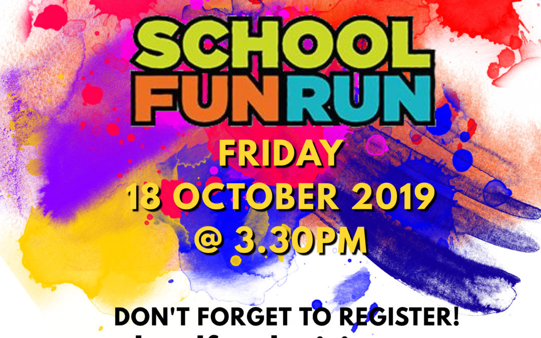 School Colour Fun Run