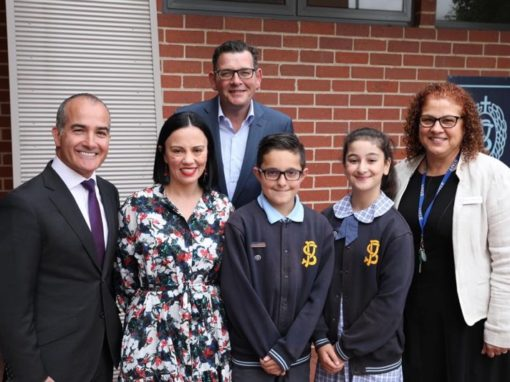 Premier announces capital funding investment in Catholic schools at St Paul's