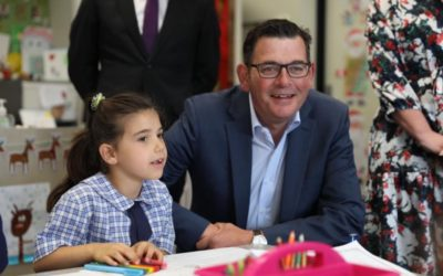 Premier Andrews visits St Paul's
